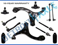 Front Lower Control Arms Tierods Sway Bars for 2006 2007-2011 Hyundai Accent
