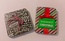 !! Set of 2 Holiday Gift Card Tins !! It Not To Early To Shop For The Holidays!!