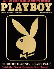 PLAYBOY JANUARY 1984 Penny Baker Dan Rather Truman Capote Ray Bradbury Paper MLR