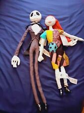 More details for the nightmare before christmas jack skellington and sally soft toys new disney
