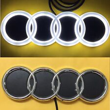 4D LED Car Tail Logo White Light for Audi Q3 Q5 A1 A3 TT Auto Badge Light Emblem