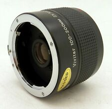 Pentax K Mount Vivitar 100-200mm 2x Matched Multiplier #3985