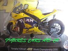MOTO GP 1/18 YAMAHA YZR-M1 # 46 COLLECTION  ROSSI WORLD CHAMPION 2006