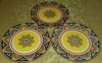 PIER 1 MEXICALI IRONSTONE 3 DINNER PLATES 10 3/4""