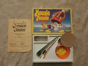 Mousie Mousie - Vintage Game by Spear's 1989 - Catch Them as They Run