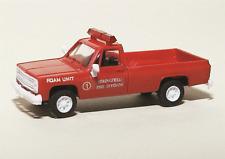 HO 1/87 Trident # 90309  Chevrolet 4x4 Pick-Up Springfield Fire Dept. Foam Unit