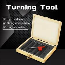 "5Pcs 3/8"" Cemented Carbide Indexable Insert Lathe Tool Set Turning Tools Kit"