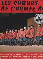 Les choeurs de l'Armée rouge-il Coro dell 'Armata rossa-Boris Alexandrov