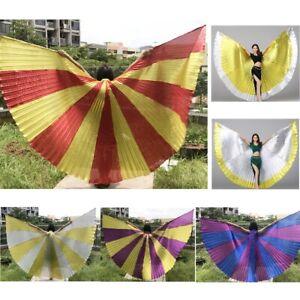 Egyptian Belly Dance Angel Wings Costume Festival Fancy Isis Wings Cosplay Wear