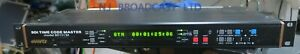 Evertz SDI time code master 8010TM unit  is SDI version with SDI in / out option