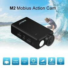 Wide Angle Mobius 2 HD1080P Sports Action Dash FPV Camera H.265 HEVC H.264 AVC