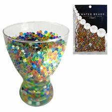 10.000 Stück Wasserperlen Viele Farben Hydroperlen Blumenperlen Gelkugeln 50g