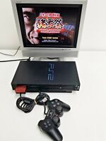 Sony Playstation 2 Black SCPH-50000 Console Set Working 726 Japan Import