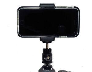 Smartphone Camera Viewfinder Kit Ballhead Clamp Hotshoe adapter Vlogging kit