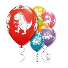 Lot de 10 ballons latex couleur animaux de jungle pour anniversaire ou fête