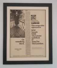 MIKE OLDFIELD*Tubular Bells*1973*RARE*ORIGINAL*POSTER*AD*FRAMED*FAST WORLD SHIP