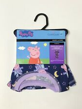 2 piece GIRLS CUDDL DUDS. Peppa Pig Long Sleeve Crew And Pant. Size 5T