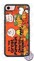 Great Pumpkin Charlie Brown Halloween Phone Case for iPhone Samsung Google etc