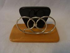 Vintage German 50s Bakelite Napkin Holder #S