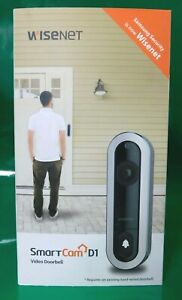 Samsung Wisenet - SmartCam D1 - WIRED Video Doorbell Camera 1080p - @B1