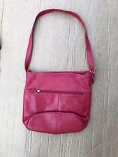 Stone Mountain red Leather Handbag