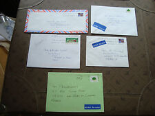 CANADA - 5 enveloppes (cy86)