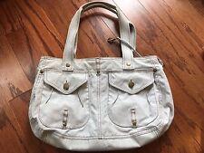 Kipling Light Grey Shoulder Tote Bag Sz M