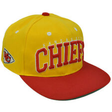 NFL Team Apparel SB400 Kansas City Chiefs Flat Bill Snapback Football Hat Cap
