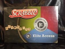 Scrabble Board Game Elite Access Diversify Investment USAopoly Hasbro NEW
