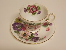 """ROYAL ADDERLEY"" FINE BONE CHINA TEA CUP & SAUCER!  ""ANE MONE"" PERFECT!"