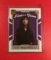 Joey Belladonna Fans Of The Game 2017 Donruss Card #1*This Anthrax Singer Rocks!