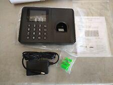 Biometric Fingerprint Checking In Attendance Machine Office Employee Time Clock