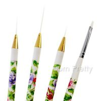 Malerei Pinsel Acryl UV Gel Nail Art Pinsel Paint Brush Tools Nageldesign