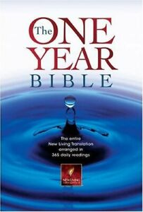 One Year Bible: The New Living Translation (Bible Nlt) Hardback Book The Cheap