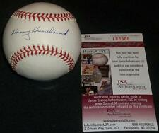 Braves Harry Hanebrink (d.96) Single Signed Autograph ONL Coleman Baseball JSA