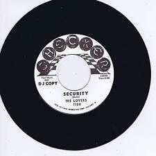 THE LOVERS - SECURITY (Hot R&B JIVER) / KO KO TAYLOR - WANG DANG DOODLE (Stroll)