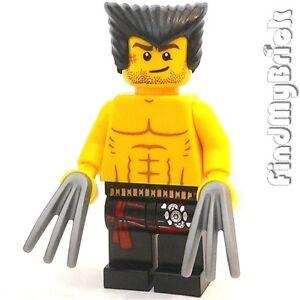M007A Lego parts - Wolverine Custom Minifigure NEW