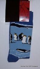 Penguins on Ice Mens/Womens Socks