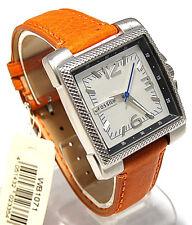 Fossil Herren Uhr WB1071L mit MORELLATO Leder Armband Fo58