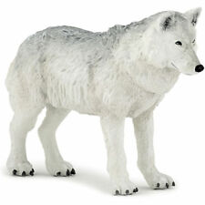 PAPO Wild Animal Kingdom Polar Wolf Figure 50195 NEW