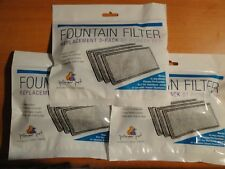 LOT OF 3 NEW REPLACEMENT 3 PACK FOUNTAIN FILTER BY PIONEER PET # 3003