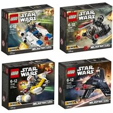 LEGO STAR WARS MICROFIGHTER SERIES 4 COLLECTION 75160 75161 75162 75163  * NEW *