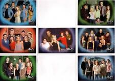 Buffy The Vampire Slayer Sky TV Seven Card Promo Set - New
