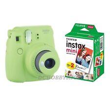 Fuji instax mini 9 Lime Green Fujifilm instant camera + 20 film