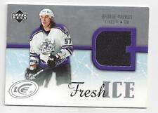 George Parros 2005-06 Upper Deck ICE Fresh Ice Game Worn Jersey Card