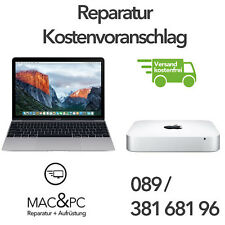 MacBook / Pro / Air / Mac mini Reparatur Kostenvoranschlag Apple