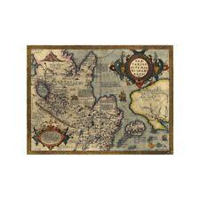 Vintage Tartaria Map Poster Art Print Wall Decor 36*24in