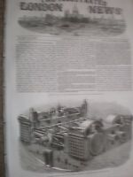 The Screw Engines of the SS Great Eastern James Watt & co 1857 print and article