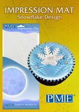 PME Icing Fondant Impression Imprint Mat Sugarcraft Cake Decorating - Snowflake