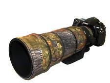 Sigma 120 300mm F2.8 Non OS Néoprène Lentille Protection Camouflage Manteau Chêne Anglais